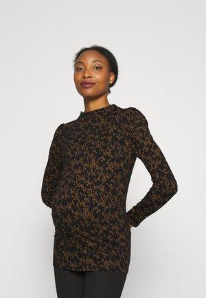 NEW STRIPE - Long sleeved top - black