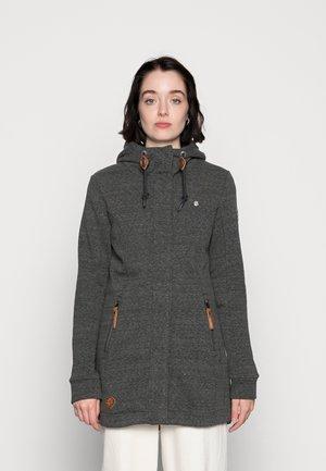 LETTY - Zip-up sweatshirt - black