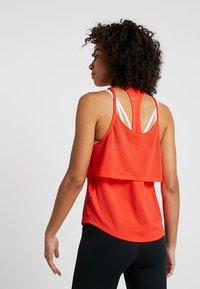 Nike Performance - TANK BREATHE - Sports shirt - bright crimson/reflective silver - 2