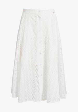 A-line skirt - weiß
