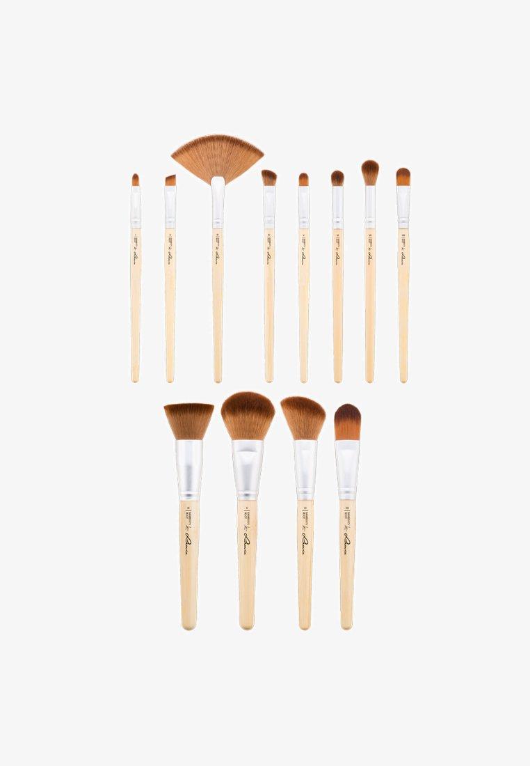 Luvia Cosmetics - BAMBOO'S ROOT - Makeup brush set - -