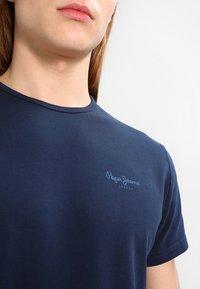 Pepe Jeans - ORIGINAL BASIC - Camiseta básica - azul marino - 3