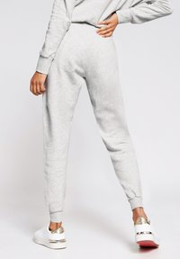 River Island - MARL SEAM DETAIL  - Tracksuit bottoms - grey - 2