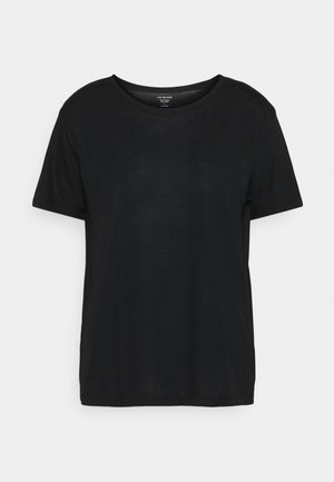 RELAXED CREW  - Basic T-shirt - black