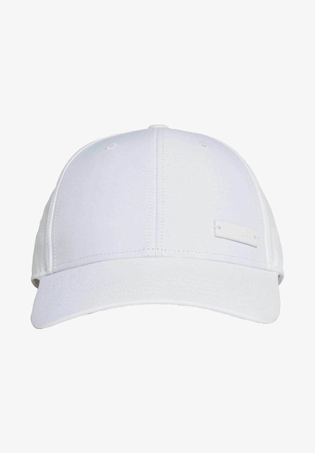 LIGHTWEIGHT METAL BADGE BASEBALL CAP - Cap - white
