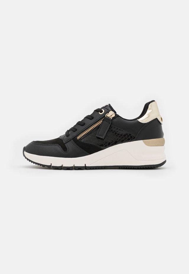 Sneaker low - black/gold