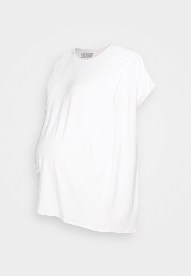 NURSING - Basic T-shirt - white