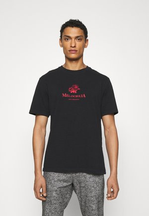 ARTWORK TEE SHORT SLEEVE - T-shirt print - faded black