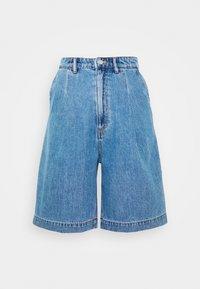 Monki - NANETTE  - Jeansshorts - blue medium dusty - 0