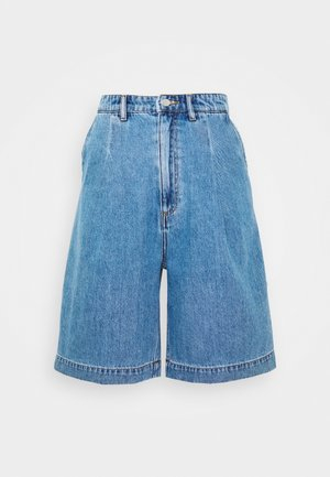 NANETTE DENIM SHORTS - Shorts - blue medium dusty