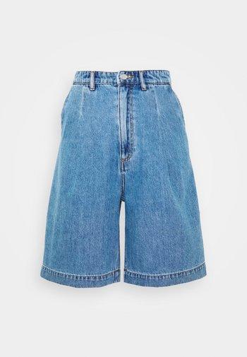 NANETTE  - Shorts di jeans - blue medium dusty