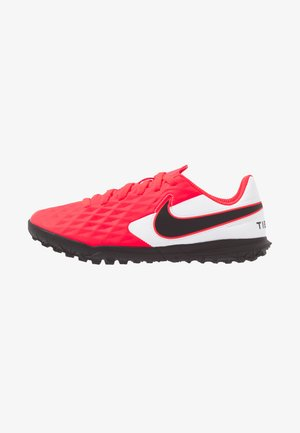 JR TIEMPO LEGEND 8 CLUB TF UNISEX - Astro turf trainers - laser crimson/black/white