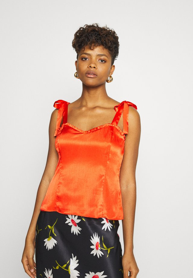 JESSA TOP - Bluser - fiesta red