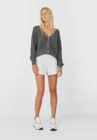Stradivarius - Cardigan - dark grey - 1
