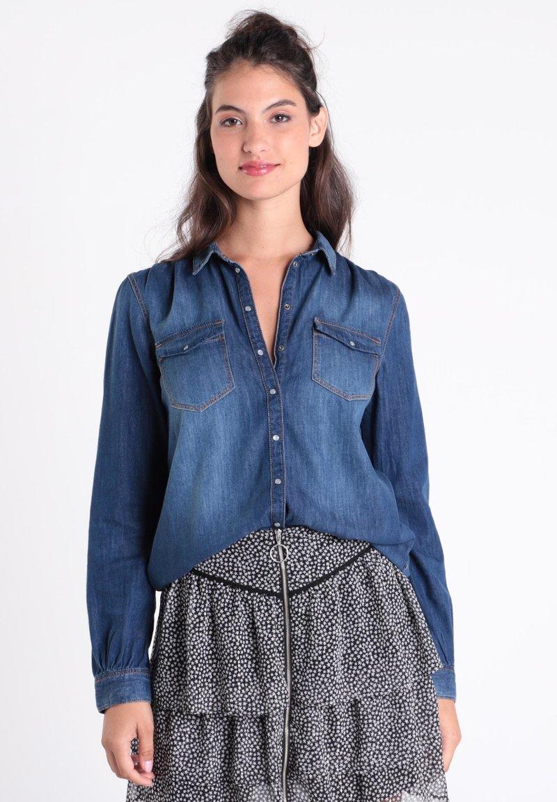 BONOBO Jeans - Camisa - denim stone