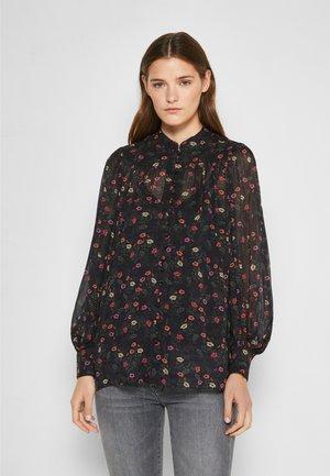 2-IN-1 - Button-down blouse - multicolor