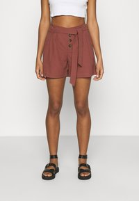 ONLY - ONLVIVA EMERY BELT - Shorts - apple butter - 0