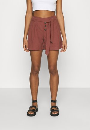 ONLVIVA EMERY BELT - Shorts - apple butter