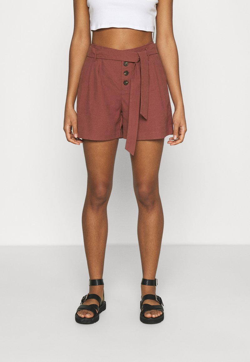 ONLY - ONLVIVA EMERY BELT - Shorts - apple butter