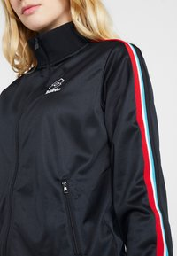 Lotto - ATHLETICA - Zip-up hoodie - all black - 7