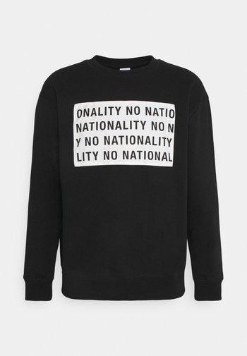 JEROME PRINT - Sweatshirt - black