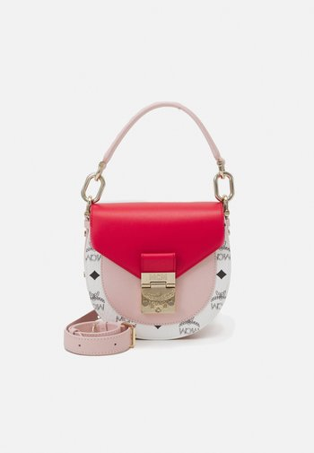 PATRICIA VISETOS BLOCK SHOULDER MINI - Handbag - chinese red