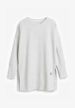 SOFT WAFFLE - Tunic - grey