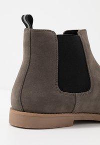 Pier One - Kotníkové boty - grey - 5