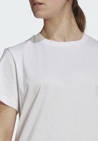 adidas Performance - MARIMEKKO - Sports dress - white - 4