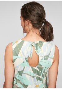 s.Oliver - MET RUGHALS - Jersey dress - cream aop - 4
