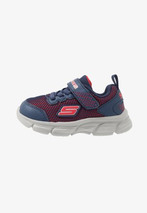 ADVANCE - Trainers - navy/red textile