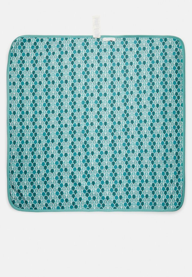 SITA BABY BLANKET - Lekematte - light teal