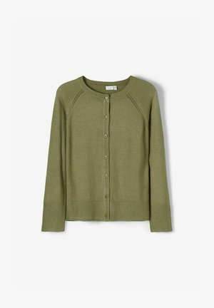Cardigan - deep lichen green