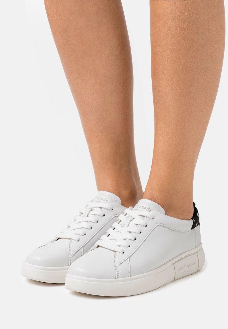 kate spade new york - LIFT - Tenisky - optik white/black/cream