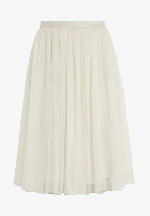 KISSES SKIRT - Jupe crayon - champagne
