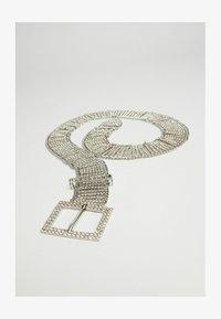 Bershka - Cintura - silver coloured - 2