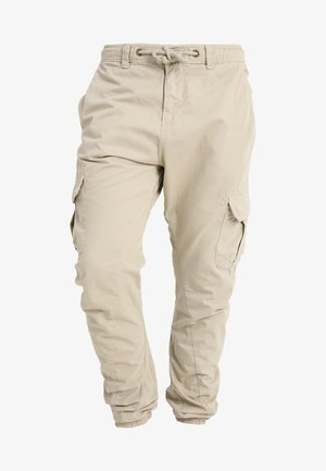 JOGGING PANT - Cargo trousers - sand