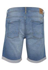 Blend - Denim shorts - denim middle blue - 1