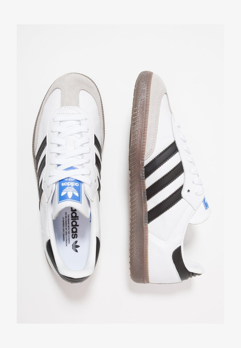 católico 鍔 roto  adidas Originals SAMBA - Zapatillas - footwear white/core  black/granit/blanco - Zalando.es