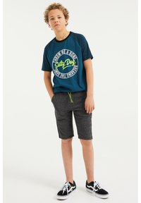 WE Fashion - Shorts - grey - 0