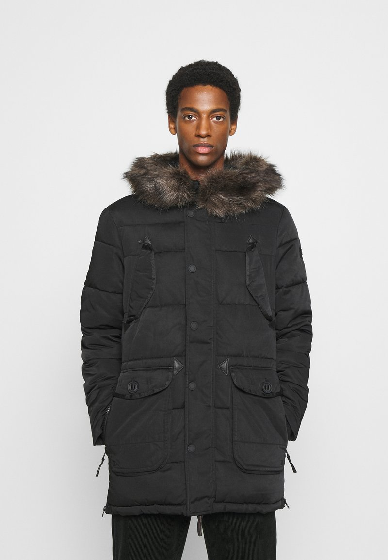 Superdry - CHINOOK - Parka - black