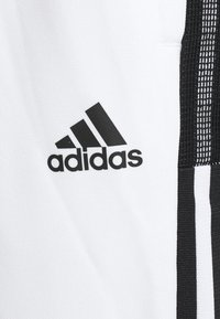 adidas Performance - Tracksuit bottoms - white/black - 4