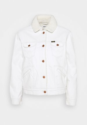 SHERPA FRIENDS  - Denim jacket - winter white