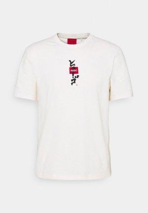 DASABI - Print T-shirt - natural