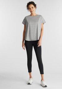 Esprit Sports - Print T-shirt - medium grey - 1
