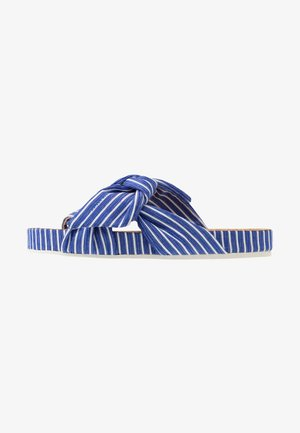 YOLIN  - Mules - blue striped