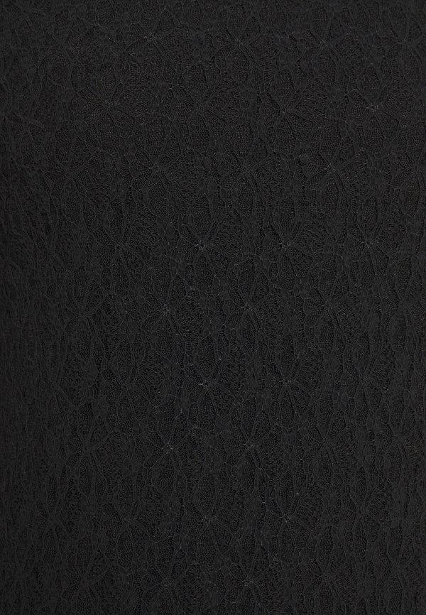 Dorothy Perkins TRIM - Bluzka - black/czarny NLIH