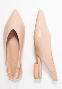 co wren wide fit - WIDE FIT - Ballerina med hælstøtte - pink - 3