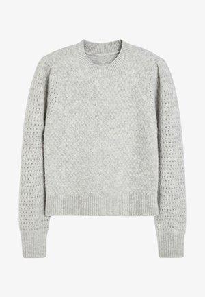 SOFT TEXTURED - Jumper - grey