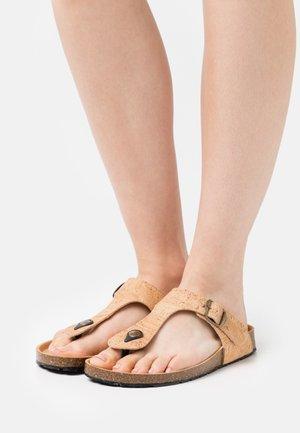 KOS VEGAN  - Sandály s odděleným palcem - brown